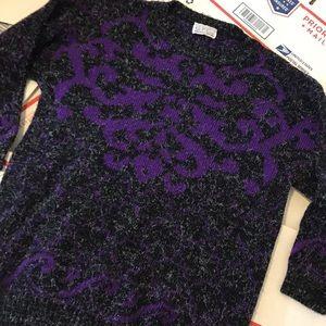 3/4 Length Sleeves Vintage Sweater